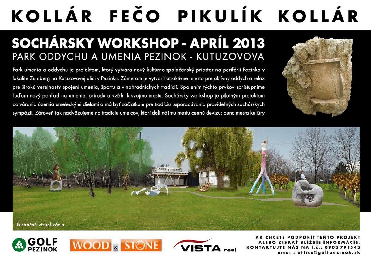 SOCHÁRSKY WORKSHOP – APRÍL 2013